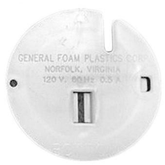 General Foam Blow Mold Back Plate Front Side